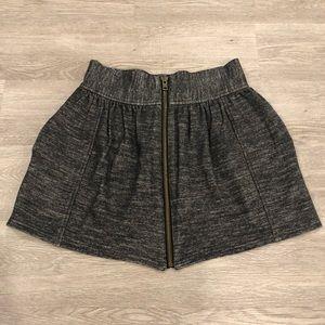 Wilfred Wool Blend Mini Zipper Skirt Size 6